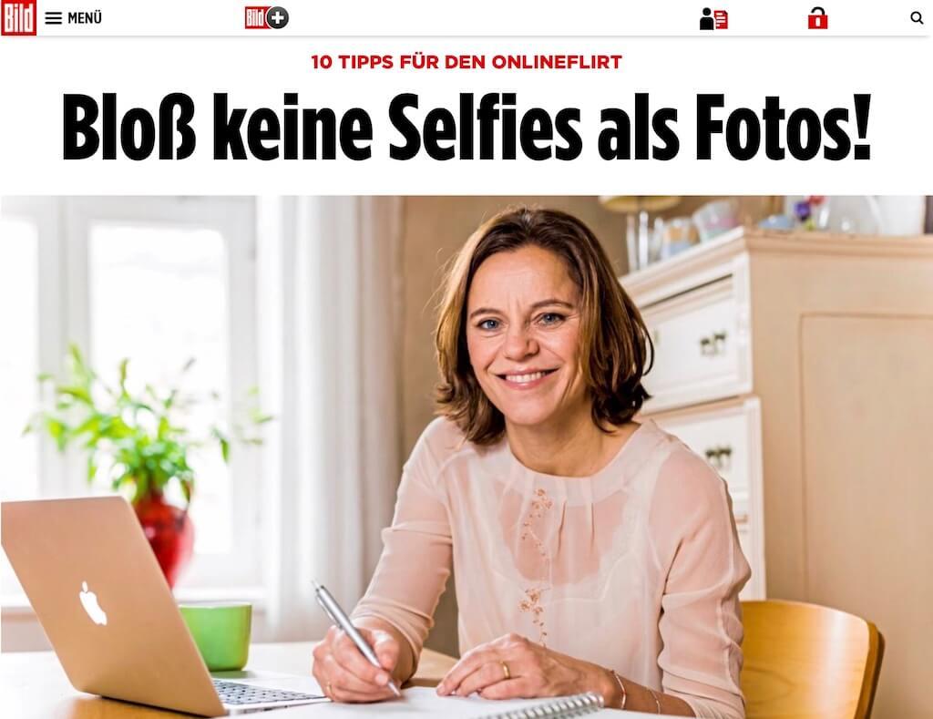 Flirtexpertin Bettina Dahlhaus Die Herzschreiber